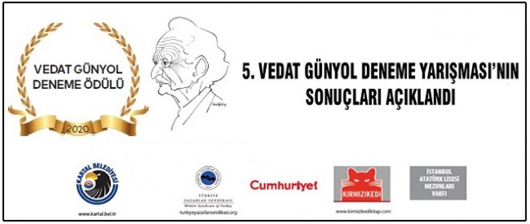 5. Vedat Günyol Ödülleri Sahiplerini Buluyor
