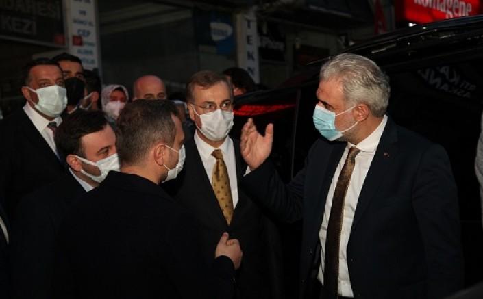 AK PARTİ İl Başkanı Kartal İlçe Başkanlığını ziyaret etti!