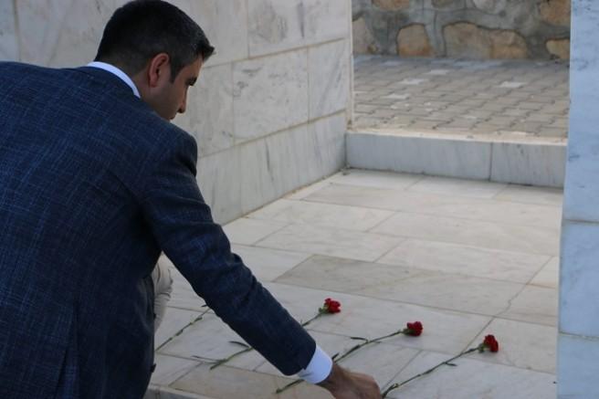 Başkan Yüksel'den Başbağlar Katliamı Şehitliğini Ziyaret