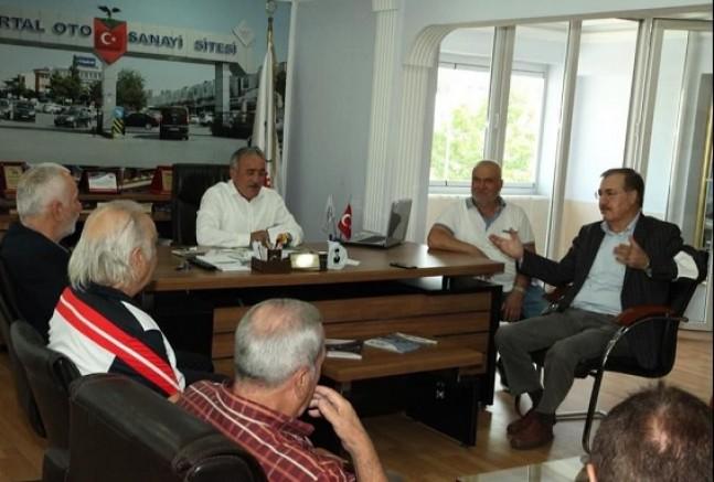 Kartal AK PARTİ'den sanayi sitesi esnafına ziyaret!